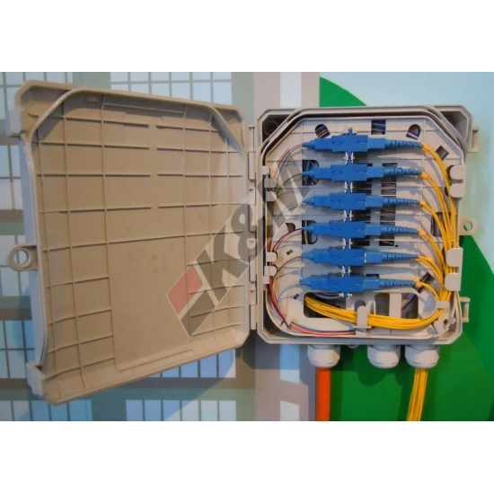 Fiber optic termination box  SC OR LC