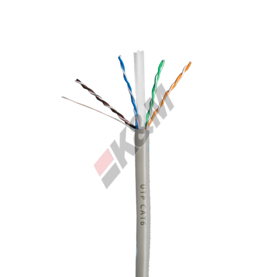 4X2X0.5CU  CAT6 UTP PVC LAN Cable